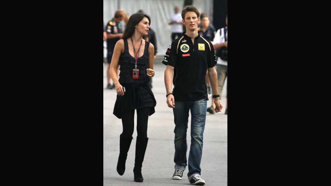 Romain Grosjean - GP Singapur - 24. September 2011