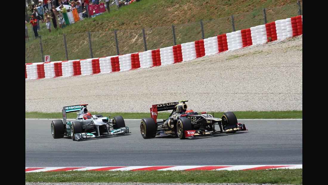 Romain Grosjean GP Spanien 2012