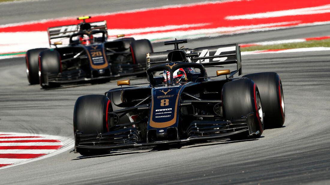 Romain Grosjean - GP Spanien 2019