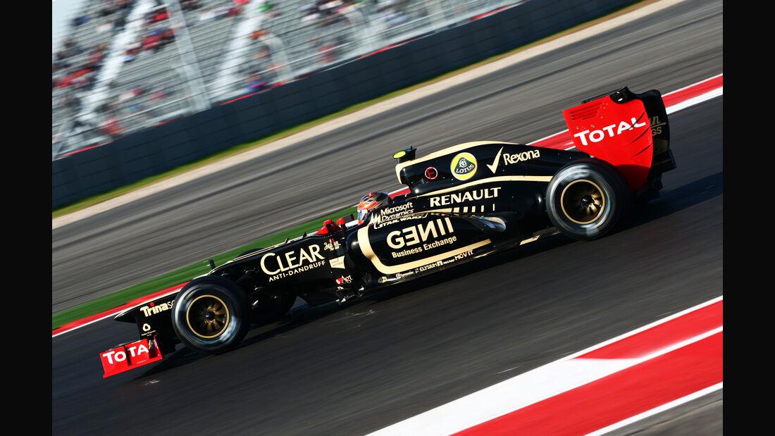 Romain Grosjean GP USA 2012