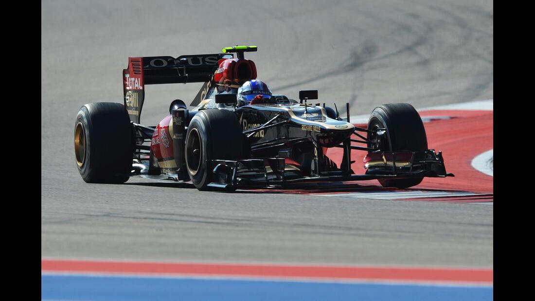 Romain Grosjean - GP USA 2013