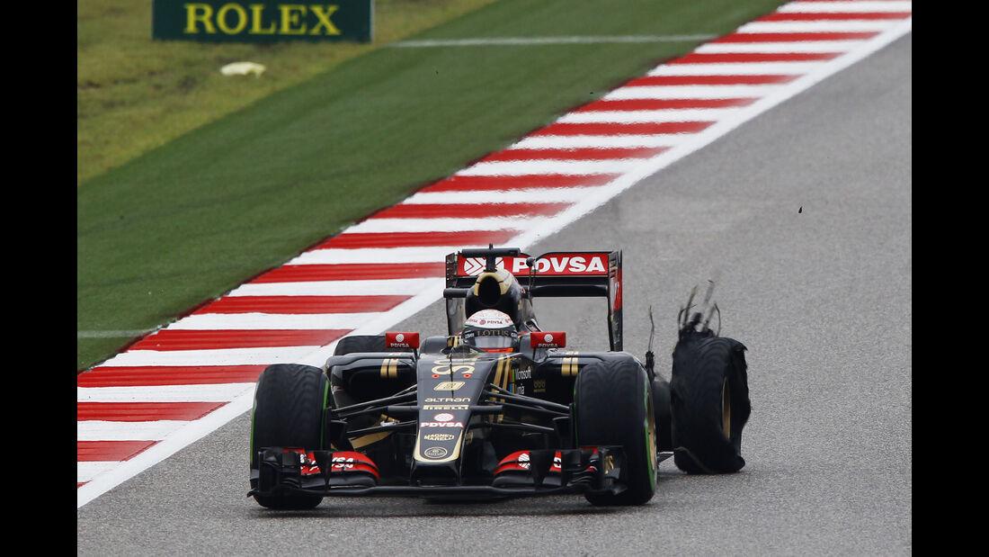 Romain Grosjean - GP USA 2015