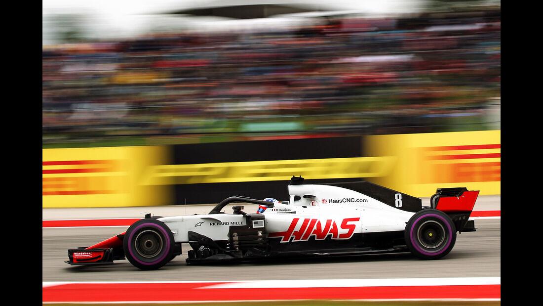 Romain Grosjean - GP USA 2018