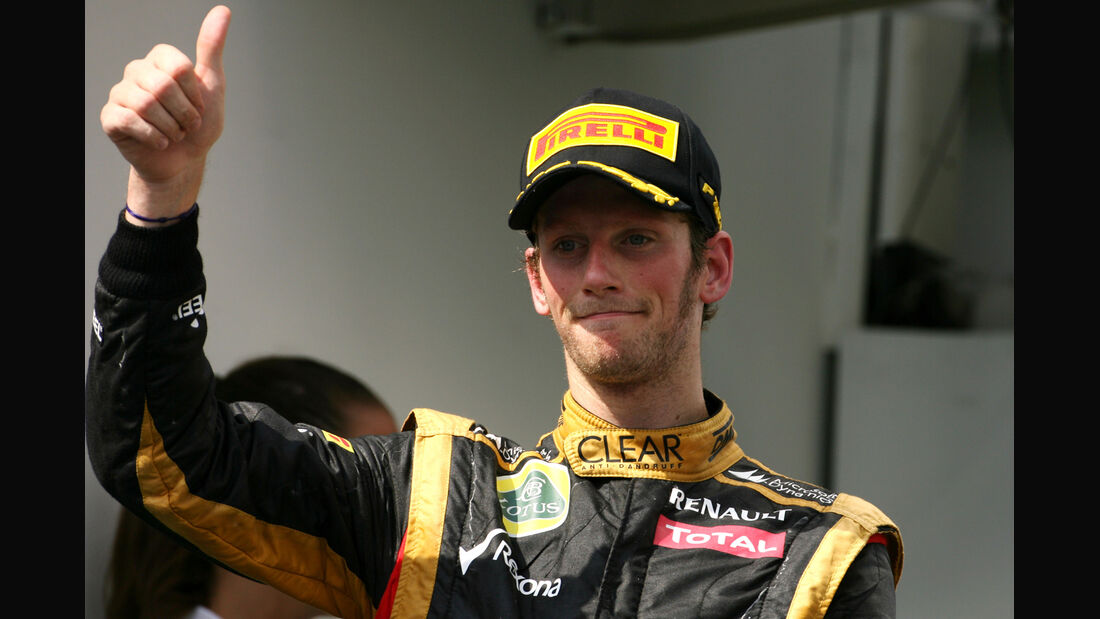 Romain Grosjean GP Ungarn 2012