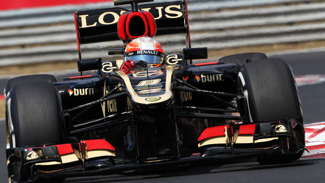 Romain Grosjean GP Ungarn 2013