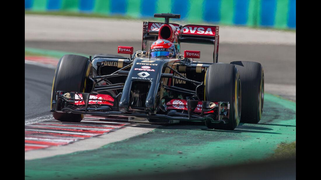 Romain Grosjean - GP Ungarn 2014