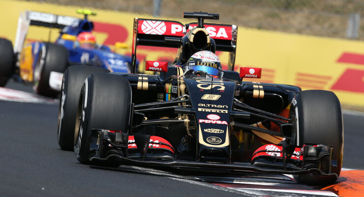 Romain Grosjean - GP Ungarn 2015