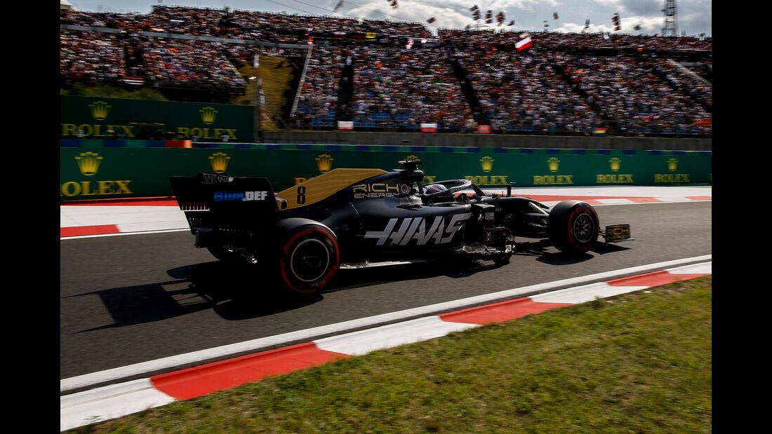 Romain Grosjean - GP Ungarn 2019