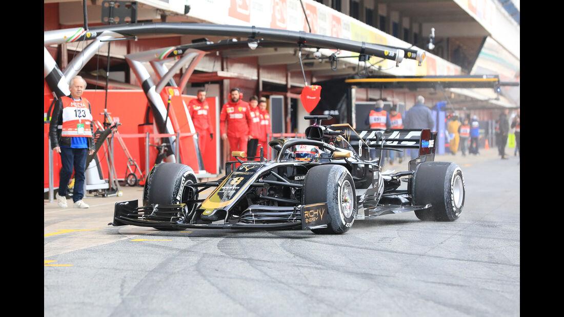 Romain Grosjean - Haas - Barcelona - F1-Test - 18. Februar 2019