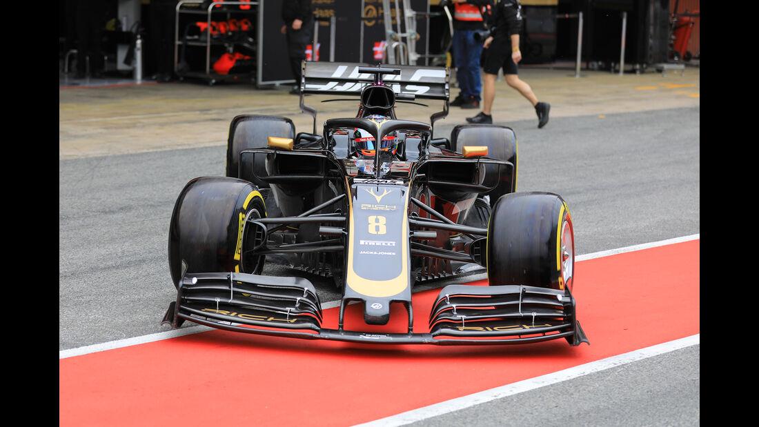 Romain Grosjean - Haas - Barcelona - F1-Test - 20. Februar 2019