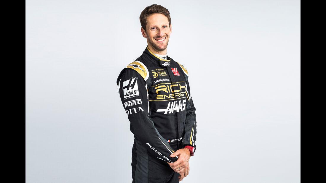 Romain Grosjean -  Haas F1 - Formel 1 - 2019