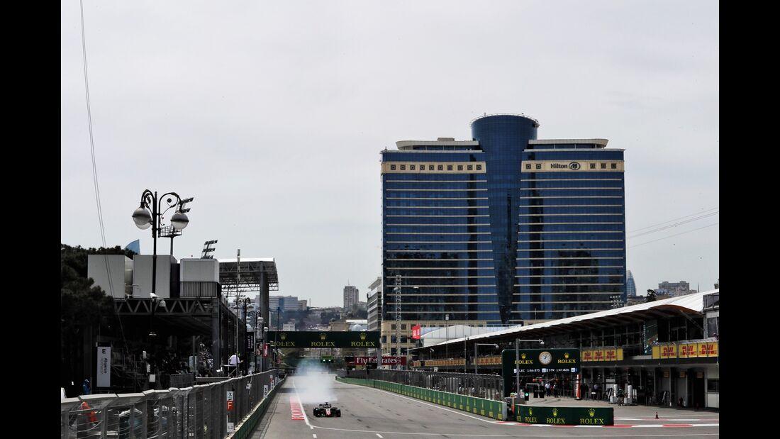 Romain Grosjean - Haas F1 - Formel 1 - GP Aserbaidschan - 27. April 2018