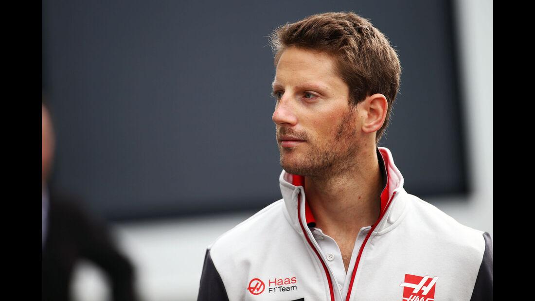 Romain Grosjean - Haas F1 - Formel 1 - GP Österreich - 1. Juli 2016