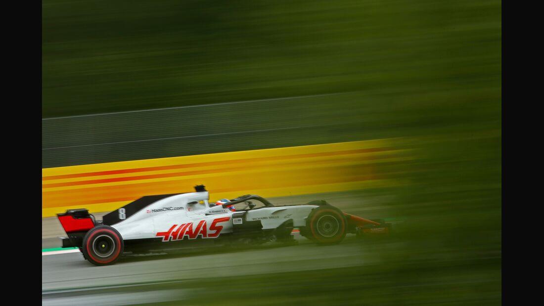 Romain Grosjean - Haas F1 - Formel 1 - GP Österreich - 29. Juni 2018