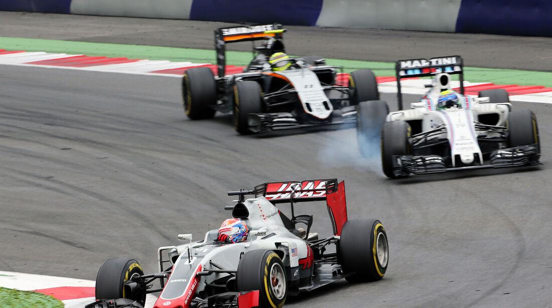 Romain Grosjean - Haas F1 - Formel 1 - GP Österreich - 3. Juli 2016