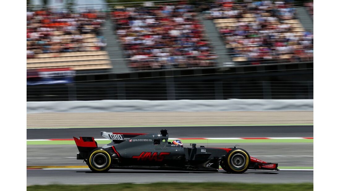 Romain Grosjean - Haas F1 - Formel 1 - GP Spanien - 13. Mai 2017