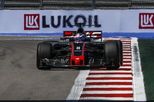 Romain Grosjean - Haas F1 - GP Russland 2017