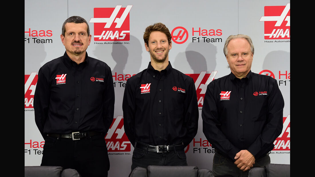 Romain Grosjean - Haas F1 - Präsentation - 2015