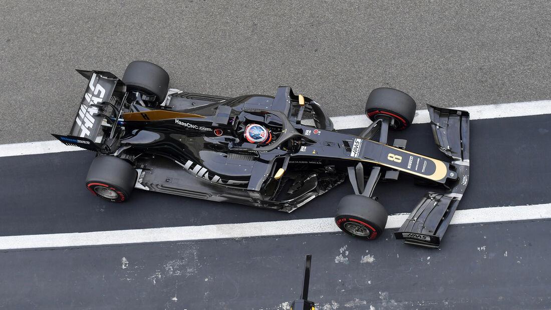 Romain Grosjean - Haas - F1-Test - Abu Dhabi - 3. Dezember 2019