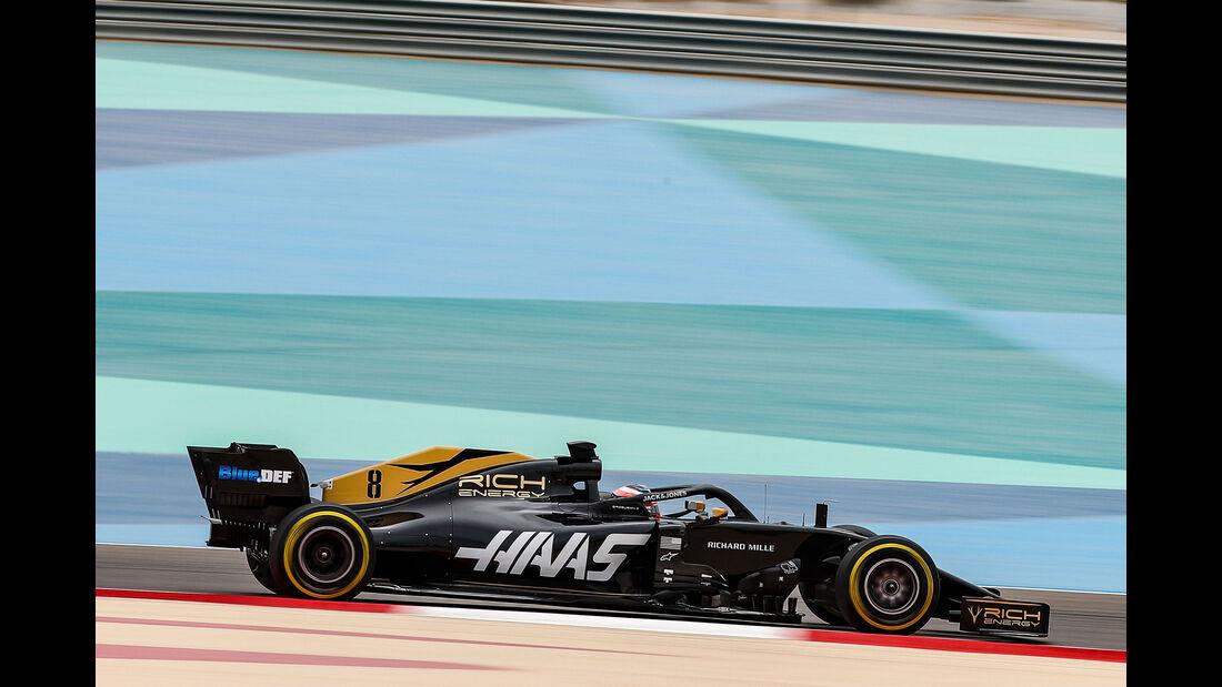 Romain Grosjean - Haas - F1-Test - Bahrain - 2. April 2019