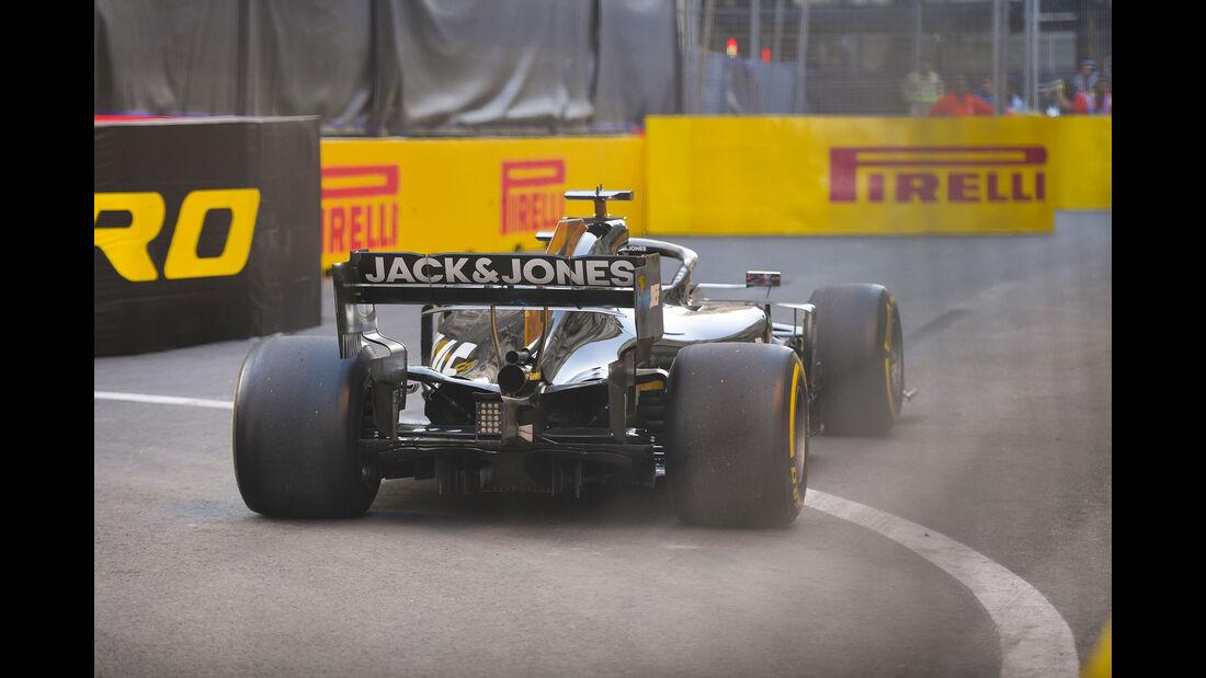 Romain Grosjean - Haas - Formel 1 - GP Aserbaidschan - Baku - 26. April 2019