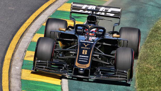 Romain Grosjean - Haas - Formel 1 - GP Australien - Melbourne - 15. März 2019