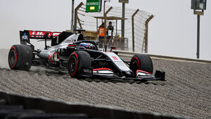 Romain Grosjean - Haas - Formel 1 - GP Bahrain- Sakhir - Freitag - 27.11.2020