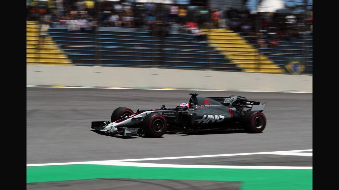 Romain Grosjean - Haas - Formel 1 - GP Brasilien - 10. November 2017