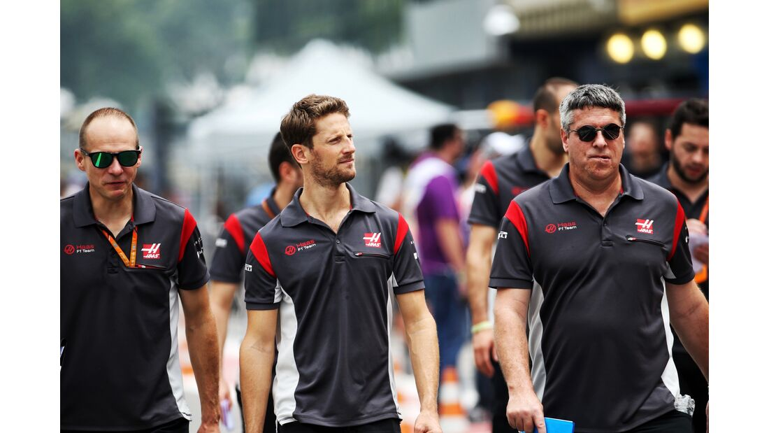 Romain Grosjean - Haas - Formel 1 - GP Brasilien - 9. November 2017