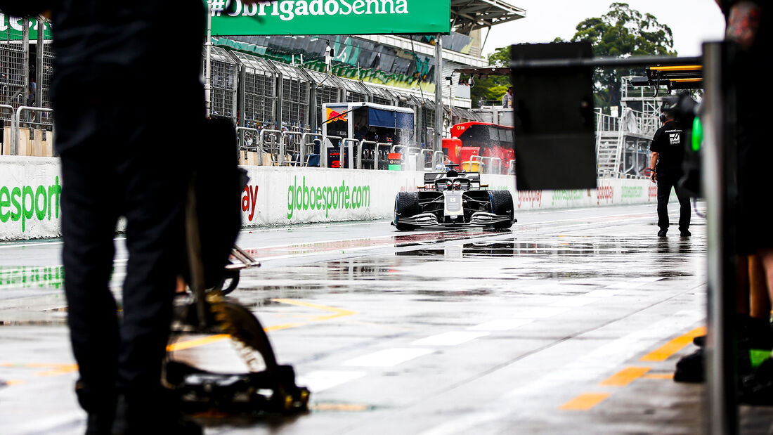 Romain Grosjean - Haas - Formel 1 - GP Brasilien - Sao Paulo - 15. November 2019