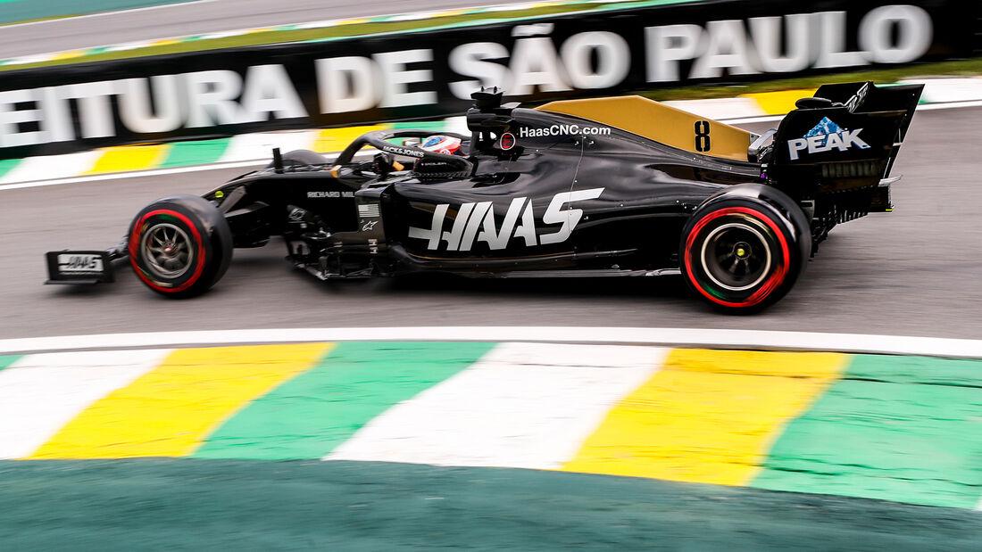 Romain Grosjean - Haas - Formel 1 - GP Brasilien - Sao Paulo - 16. November 2019