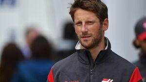 Romain Grosjean - Haas - Formel 1 - GP England - 15. Juli 2017