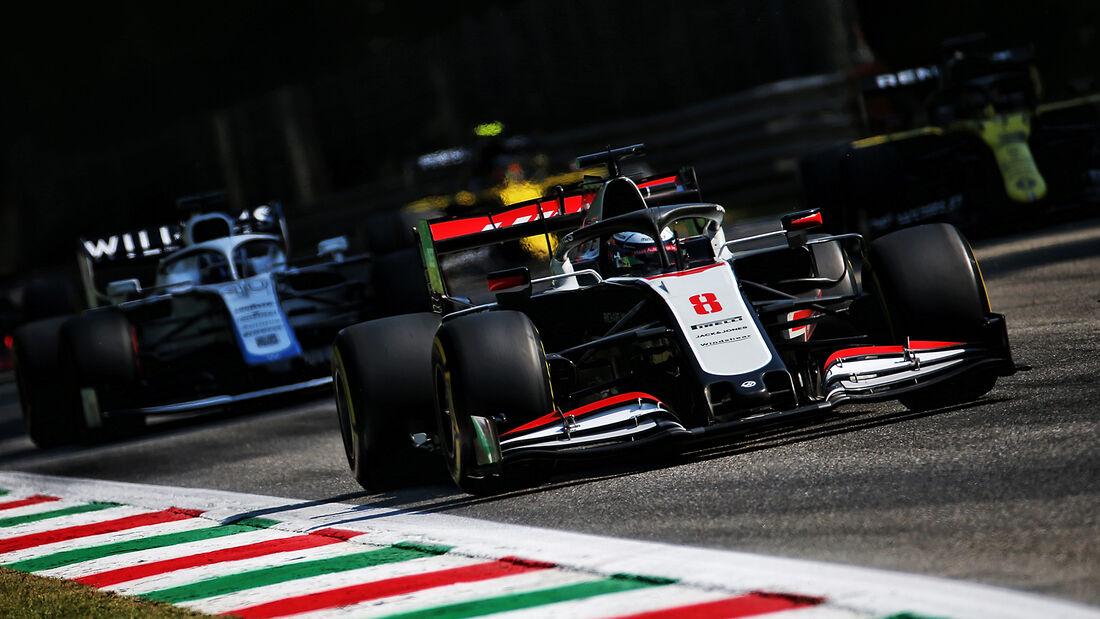 Romain Grosjean - Haas - Formel 1 - GP Italien - Monza - 4. September 2020