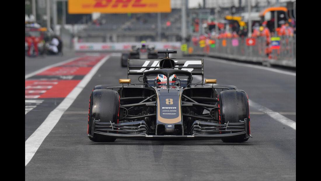 Romain Grosjean - Haas - Formel 1 - GP Mexiko - 26. Oktober 2019