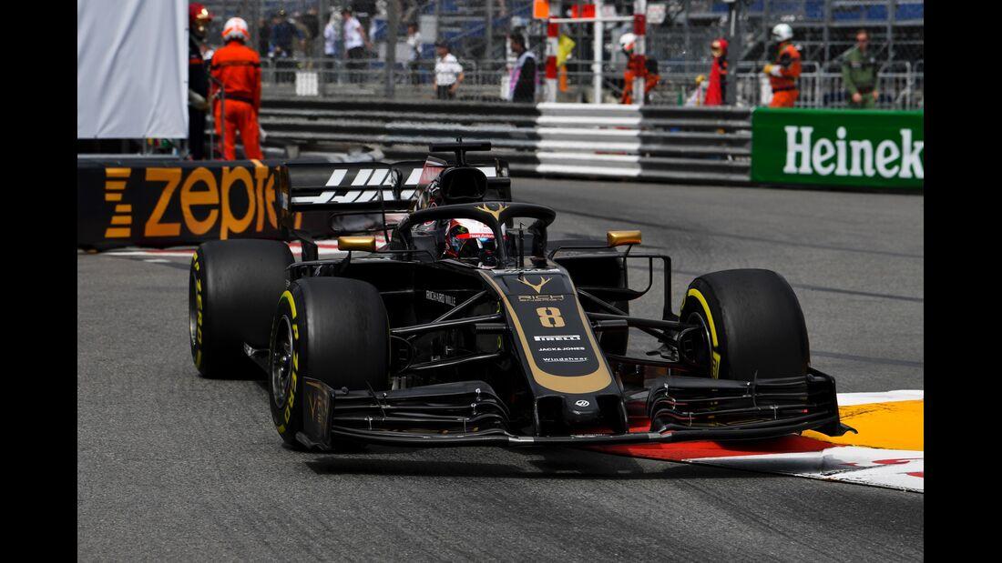 Romain Grosjean - Haas - Formel 1 - GP Monaco - 23. Mai 2019