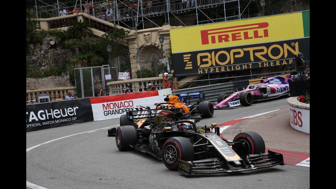 Romain Grosjean - Haas - Formel 1 - GP Monaco - 26. Mai 2019