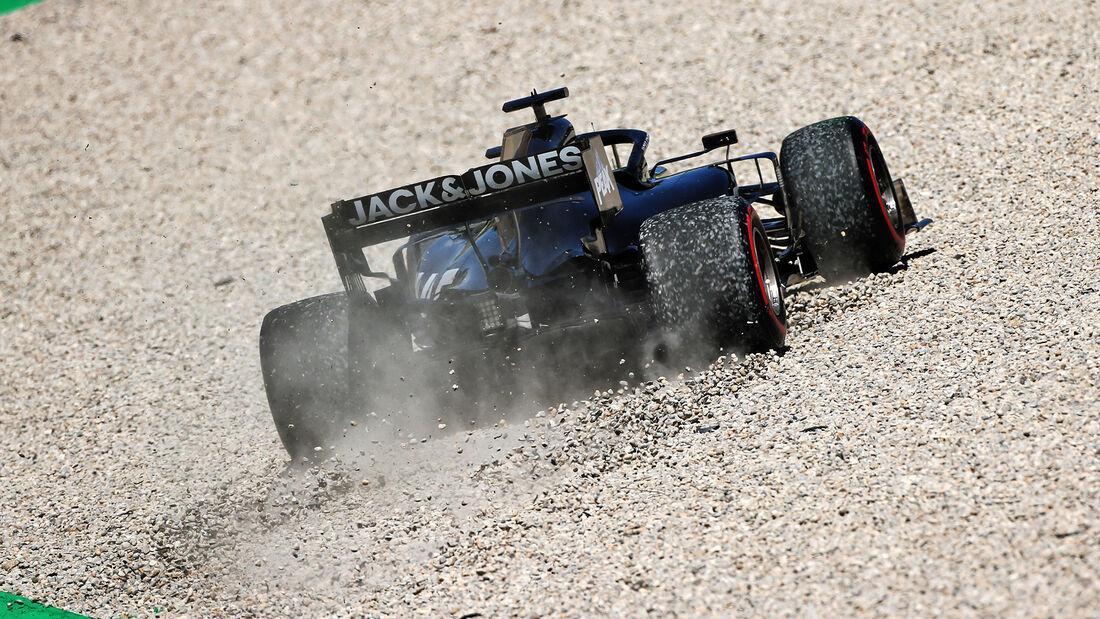 Romain Grosjean - Haas - Formel 1 - GP Spanien - Barcelona - 10. Mai 2019