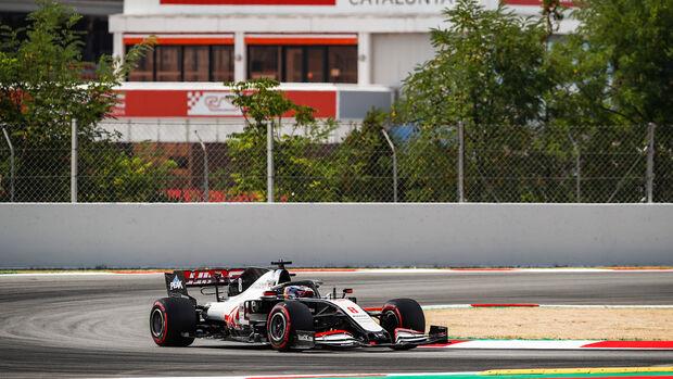 Romain Grosjean - Haas - Formel 1 - GP Spanien - Barcelona - 14. August 2020
