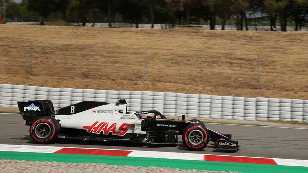 Romain Grosjean - Haas - Formel 1 - GP Spanien - Barcelona - 14. August 2020