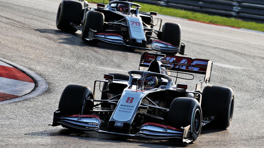 Romain Grosjean - Haas - Formel 1 - GP Türkei - Istanbul - Freitag - 13.11.2020