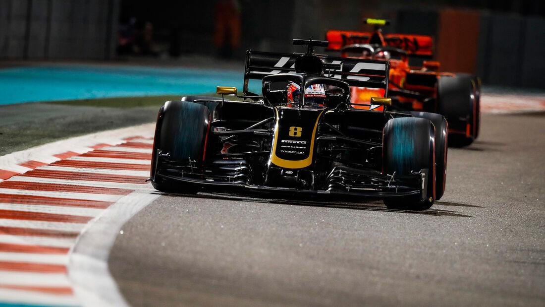 Romain Grosjean - Haas - GP Abu Dhabi 2019 - Training