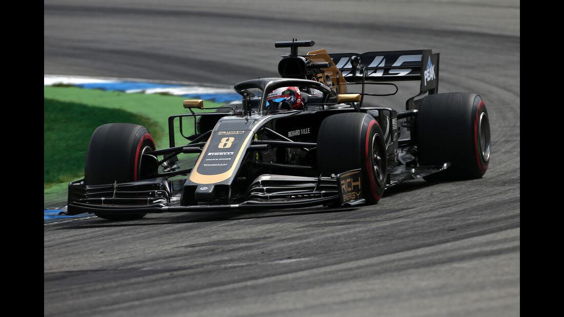 Romain Grosjean - Haas - GP Deutschland 2019 - Hockenheim - Qualifying