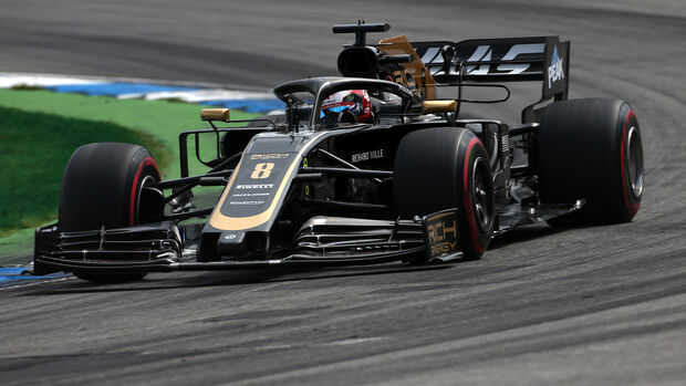 Romain Grosjean - Haas - GP Deutschland 2019 - Hockenheim - Qualifying