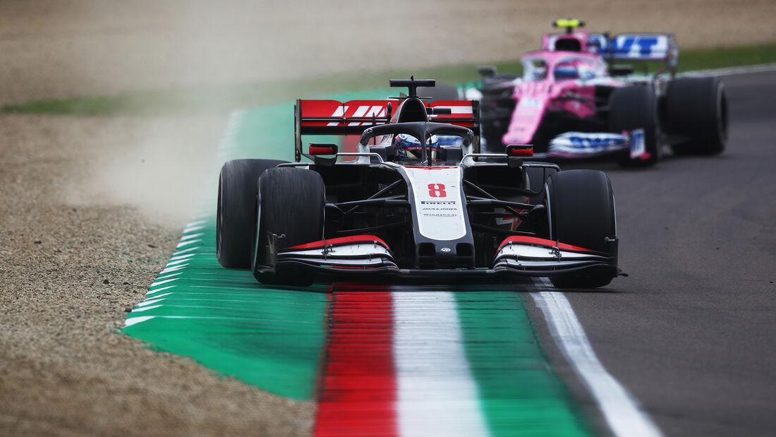 Romain Grosjean - Haas - GP Emilia-Romagna 2020 - Imola
