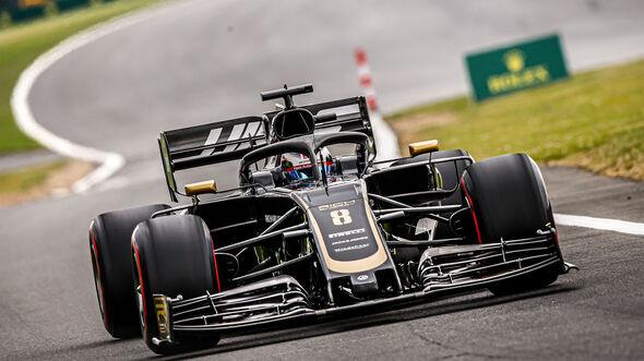 Romain Grosjean - Haas - GP England 2019