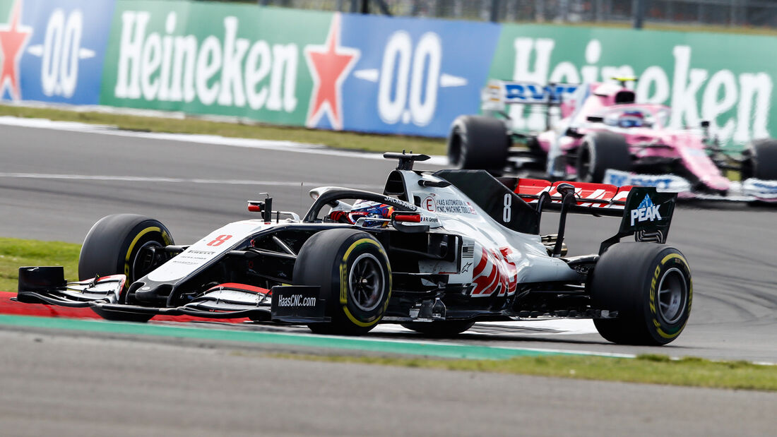 Romain Grosjean - Haas - GP England 2020 - Silverstone