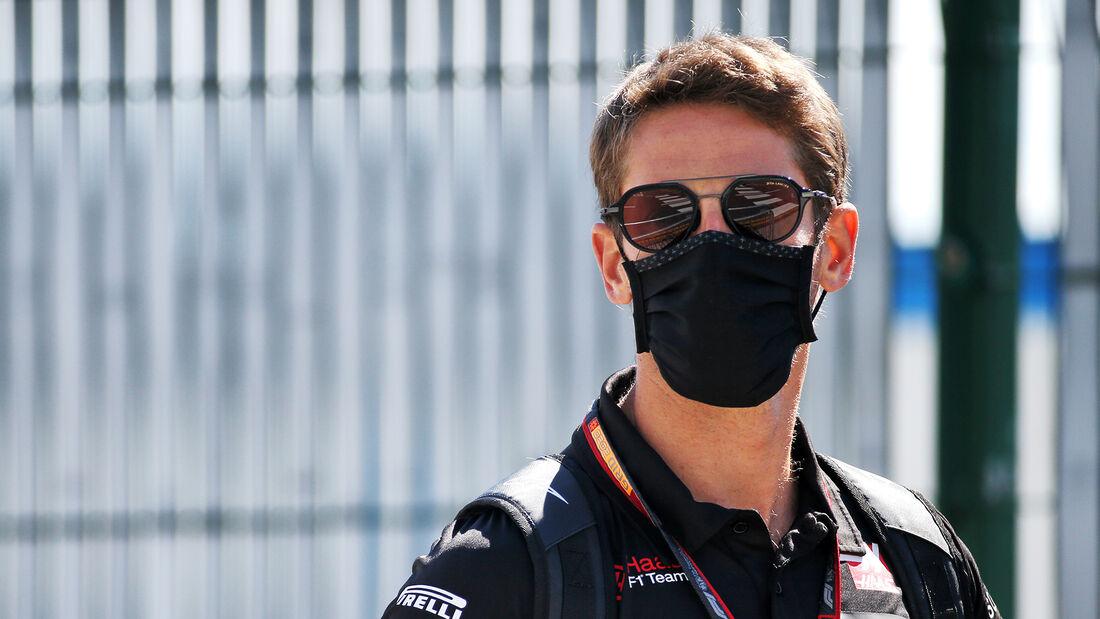 Romain Grosjean - Haas - GP England  - Silverstone - 30. Juli 2020