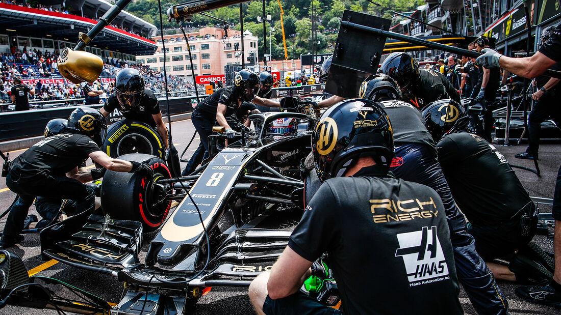Romain Grosjean - Haas - GP Monaco 2019