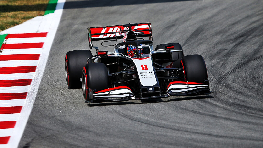 Romain Grosjean - Haas - GP Spanien 2020 - Barcelona