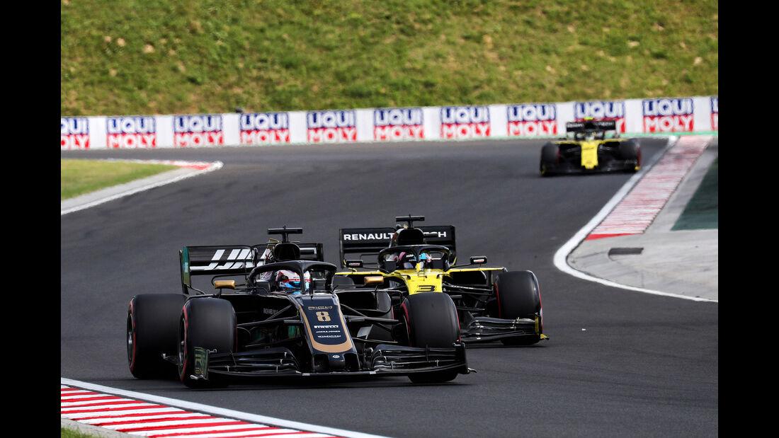 Romain Grosjean - Haas - GP Ungarn 2019 - Budapest - Qualifying